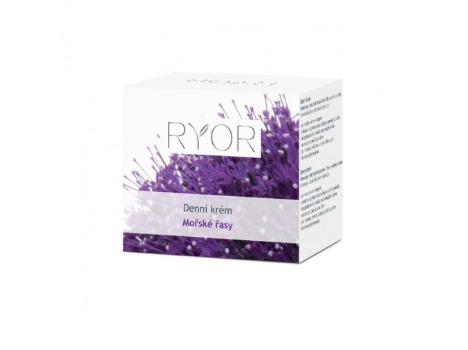 Ryor Denní hydratační krém s mořskými řasami pro všechny typy pleti 50 ml