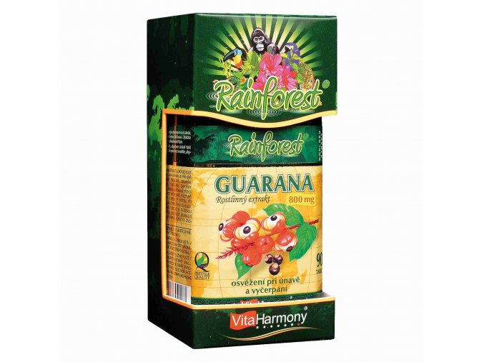 VitaHarmony Guarana 800 mg 90 tbl.