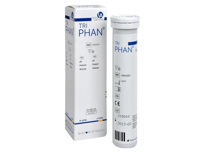TriPhan - diagnostické proužky k vyšetření moče 50 ks
