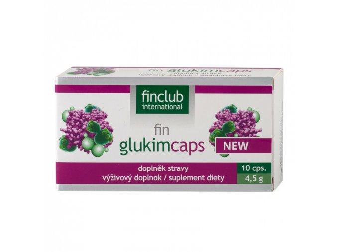 Finclub fin Glukimcaps 10 kapslí