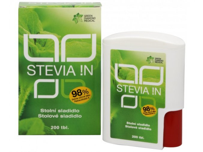 GDM Stevia !N 200 tbl.