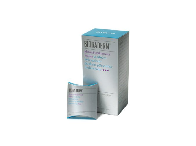 Biora Bioraderm pleťová maska 4x4 ml