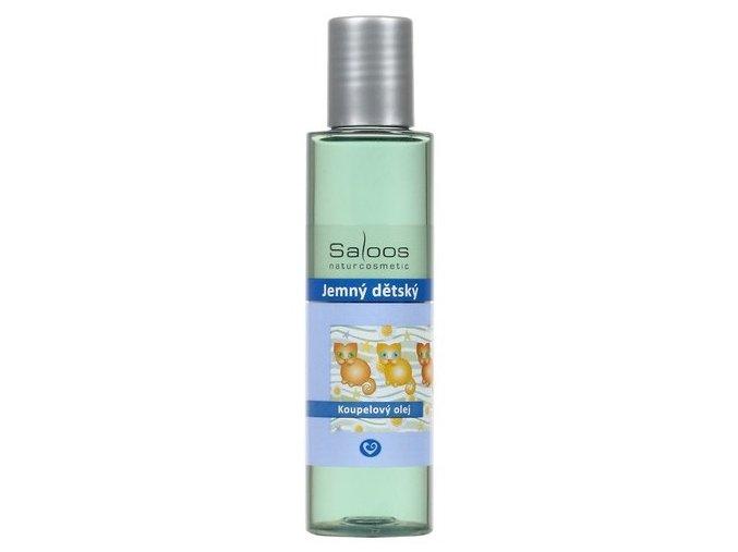 Saloos Jemný dětský - koupelový olej