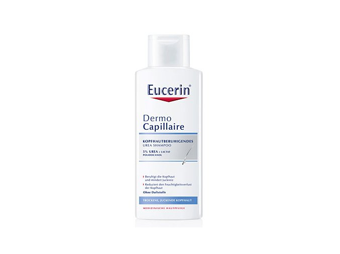 Eucerin Šampon na vlasy pro suchou pokožku 5 % UREA Dermocapillaire 250 ml