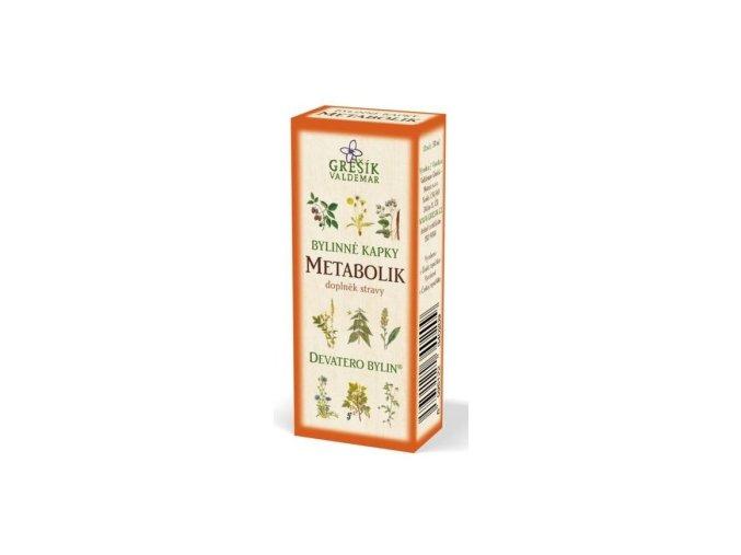 Grešík Metabolik bylinné kapky Devatero bylin 50 ml