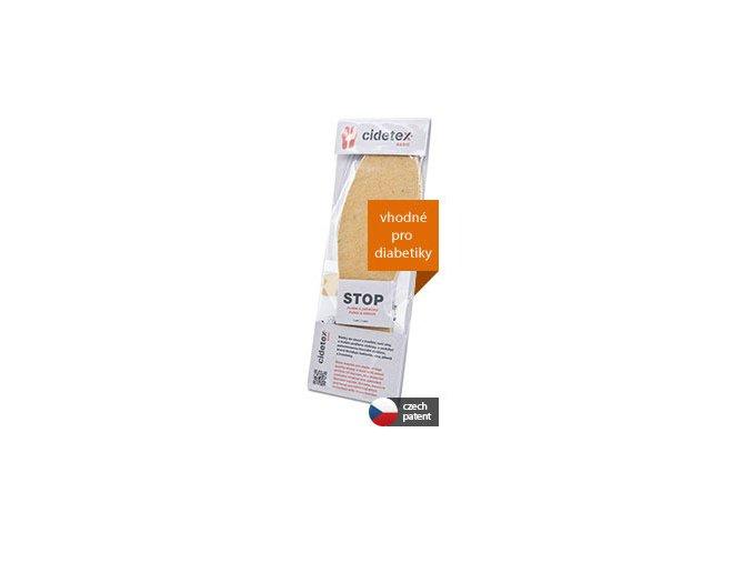 Cidetex Basic antibakteriální stélky do bot 1 pár