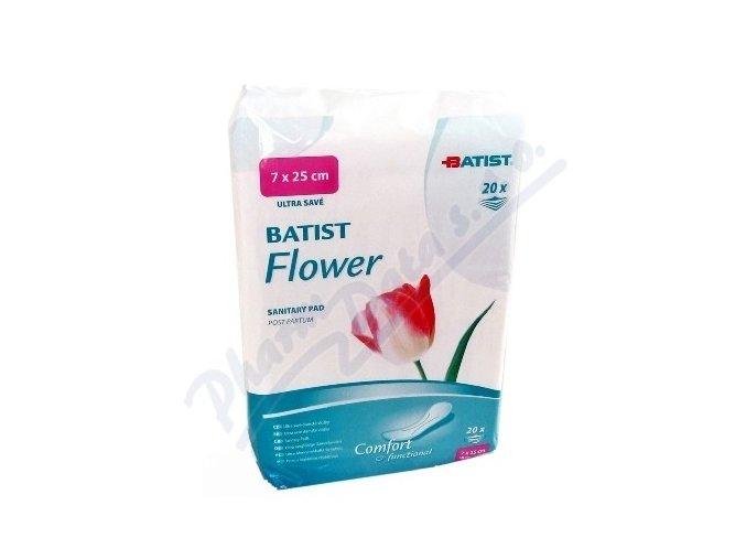 Batist Flower Vložky porodnické 20 ks