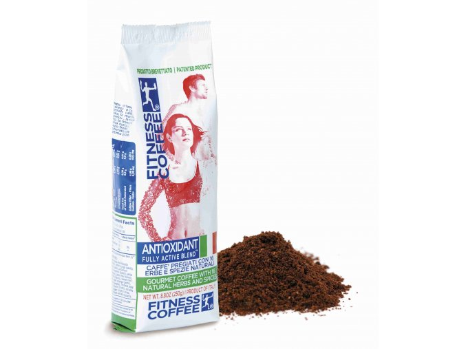 Monvitaly Káva Fitness Coffee Antioxidant Fully Active Blend mletá 250 g