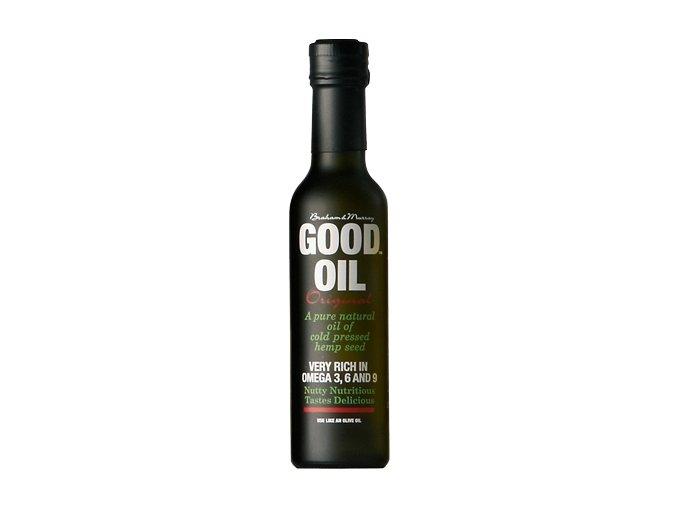 Good Hemp Konopný olej za studena lisovaný 500 ml