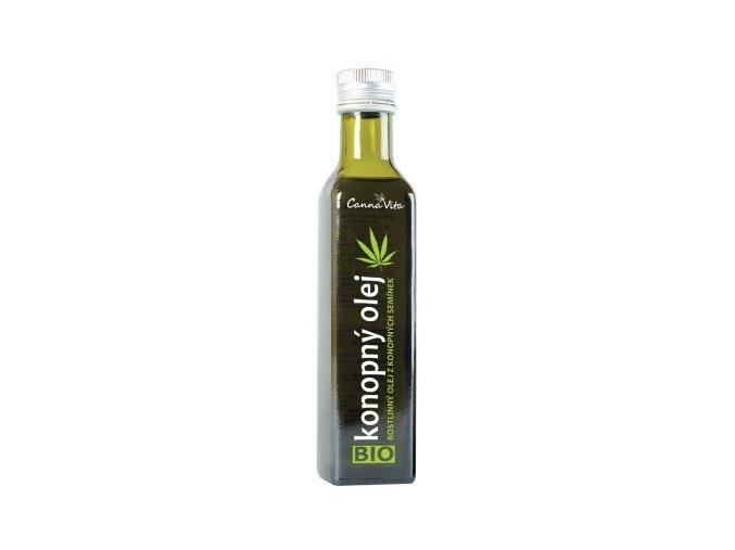 CannaVita Bio Konopný olej za studena lisovaný 500 ml
