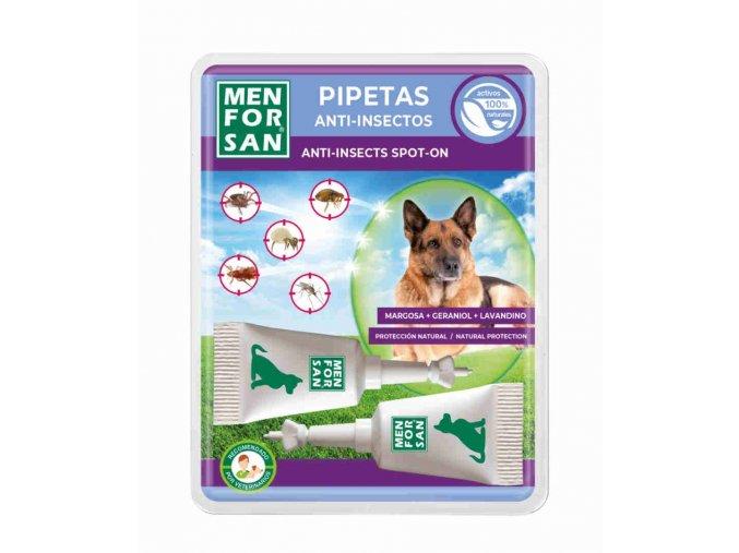 Menforsan Antiparazitní pipety pro psy 2 x 1,5 ml
