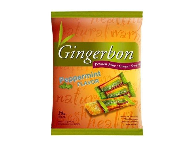 Gingerbon Zázvorové bonbony s mátou 125 g