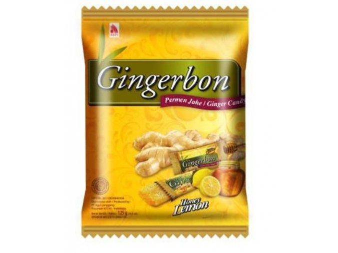 Gingerbon zazvorove bonbony s medem a citronem