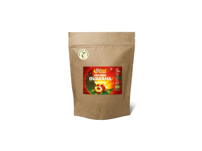 Lifefood Bio Guarana prášek Raw 180 g