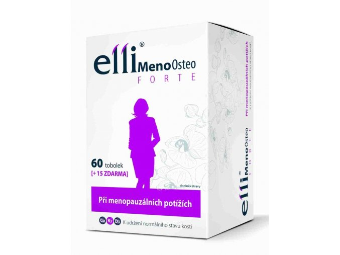 Simply You Elli MenoOsteo Forte 60 tob. + 15 tob. ZDARMA