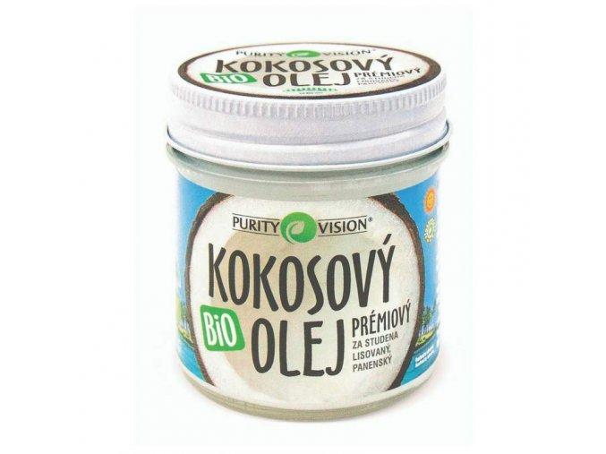 D2501F40 66A5 4A4F A547 0EA338F33580 purity vision bio kokosovy olej 120 ml