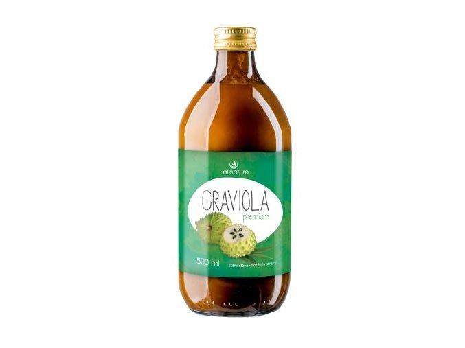 Allnature Graviola Premium šťáva 500 ml