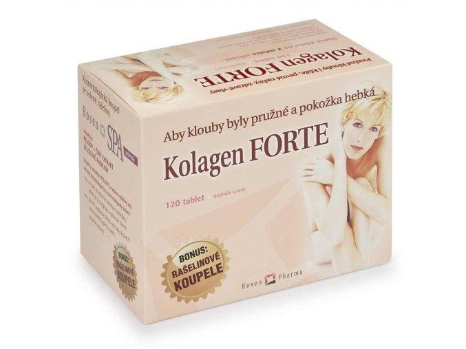 Rosen Kolagen FORTE 120 tbl. + 2 rašelinové koupele RosenSPA