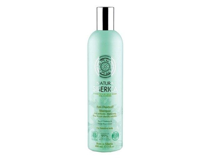 Natura Siberica Šampon pro citlivou pokožku hlavy - proti lupům 400 ml