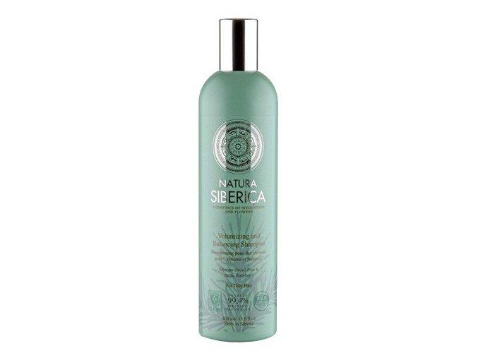 Natura Siberica Šampon pro mastné vlasy - objem a bilance 400 ml