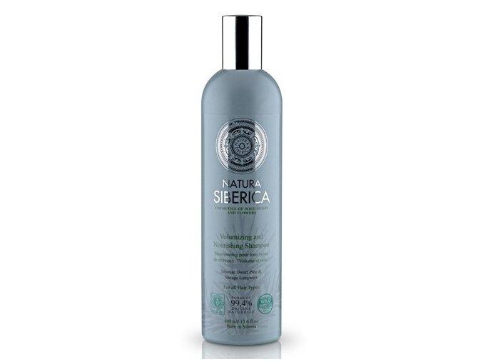Natura Siberica Šampon pro všechny typy vlasů - objem a péče 400 ml
