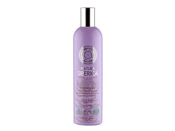 Natura Siberica Šampon pro suché vlasy - ochrana a výživa 400 ml
