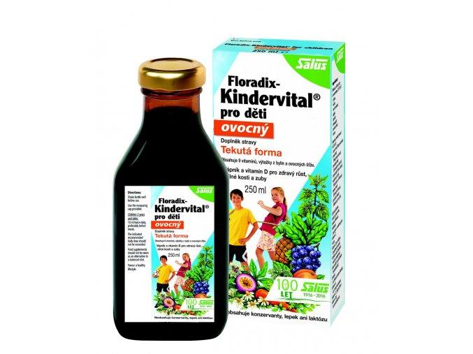 Floradix Kindervital pro děti ovocný 250 ml