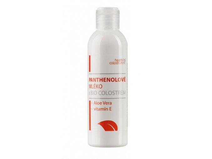 Panthenolové tělové mléko s bio colostrem, aloe vera a vitamínem E 200 ml
