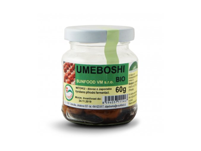 sunfood umeboshi 60g