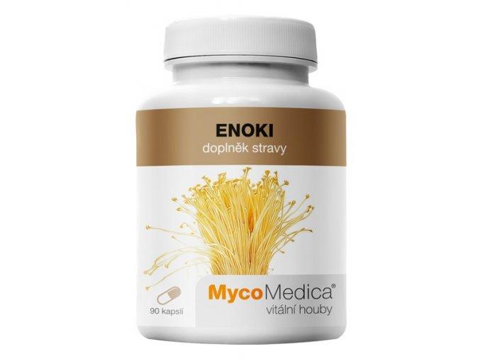 MycoMedica Enoki 90 kapslí