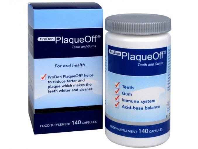 PlaqueOff® Teeth and Gums 140 kapslí