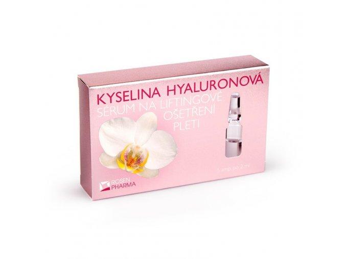 Rosen Kyselina hyaluronová - sérum na liftingové ošetření - 5 ampulí po 2 ml