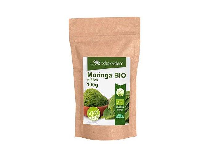 ZdravýDen® BIO Moringa prášek Raw 100 g