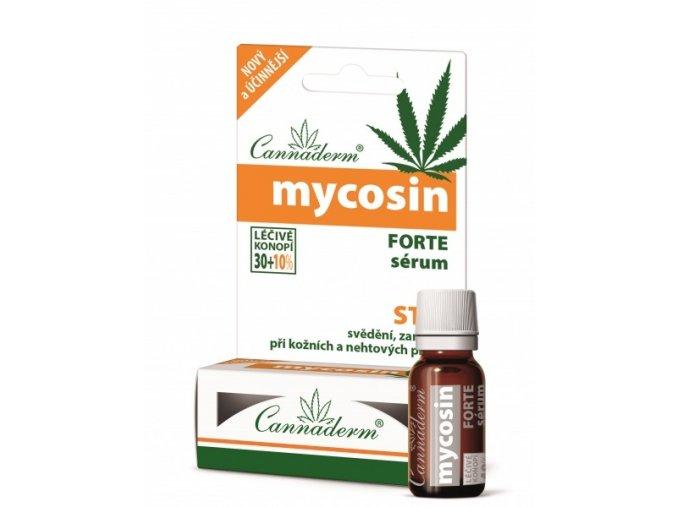 Cannaderm BIO Mycosin Forte sérum 10 ml + 2 ml ZDARMA