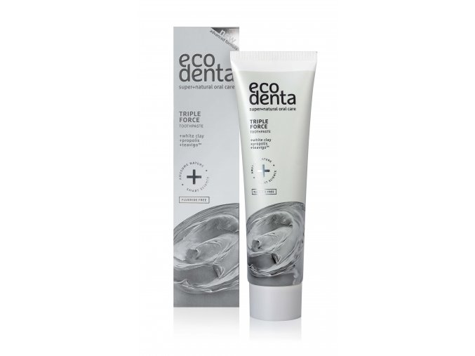 zubni pasta s trojitym efektem s bilym jilem propolisem a extraktem teavigo triple effect toothpaste
