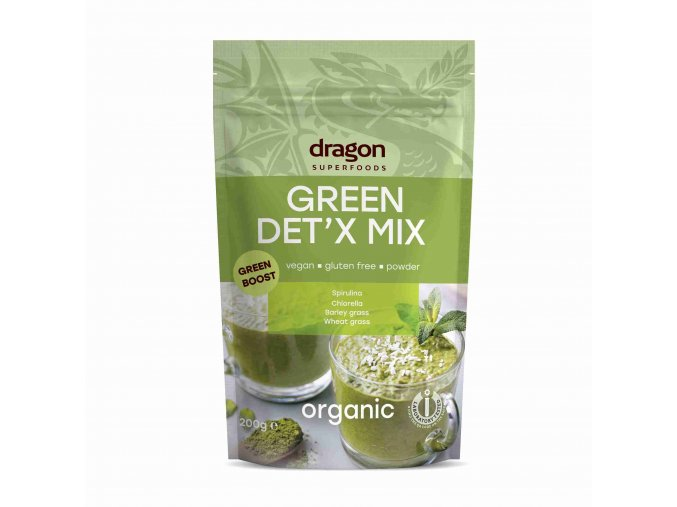 Dragon superfoods Bio Green detox mix Raw 200 g