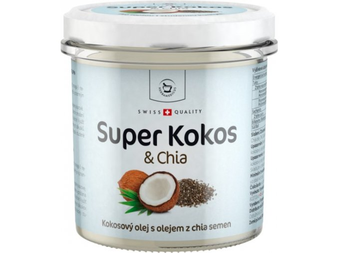 Herbamedicus Super Kokos & Chia - superpotravina 300 ml