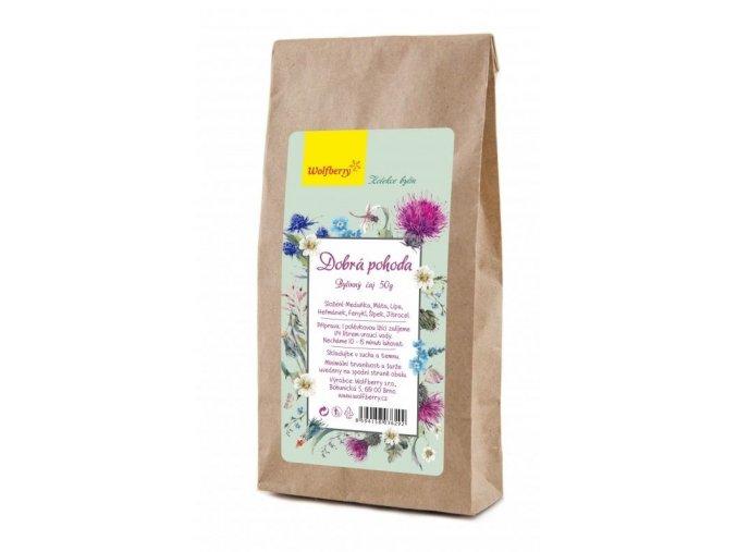 Wolfberry Dobrá pohoda bylinný čaj 50 g