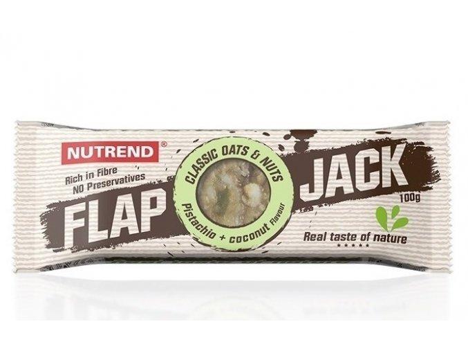 Nutrend Flapjack Pistácie + kokos 100 g