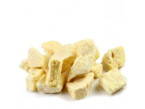 K-Servis Ananas - kousky sušené mrazem 1000 g