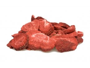 K-Servis Jahody - plátky sušené mrazem 1000 g