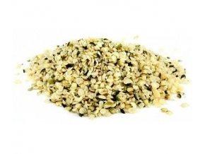 konopne seminko loupane