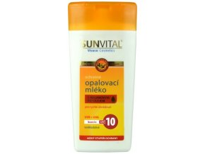 sensitiv opalovaci mleko argan OF10