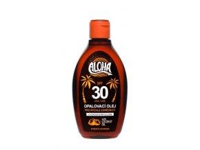 ALOHA Opalovací olej s kokosovým olejem OF 30 200 ml