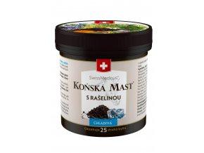konska mast s raselinou chladiva 250 ml