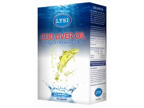 cod liver oil transparent