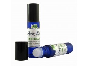 skin roller blue 2bottl