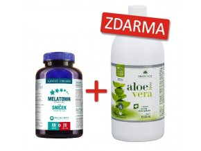 melatonin+aloe vera live 1but zdarma