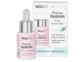 Pharma Hyaluron koncentrát proti vráskám se zklidňujícím účinkem 13 ml
