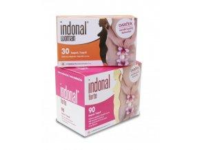 Synergia Indonal Forte 90 kapslí + Indonal Woman 30 kapslí